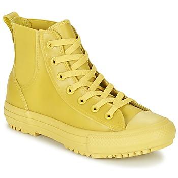 鞋子 女士 高帮鞋 Converse 匡威 CHUCK TAYLOR ALL STAR CHELSEA CAOUTCHOUC HI 黄色 / 柠檬色