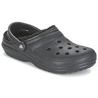 鞋子 洞洞鞋/圆头拖鞋 crocs 卡骆驰 CLASSIC LINED CLOG 黑色