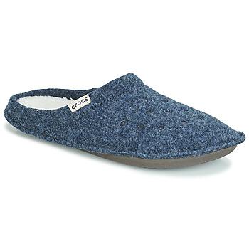 鞋子 拖鞋 crocs 卡骆驰 CLASSIC SLIPPER 海蓝色 / 红色