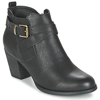 鞋子 女士 短靴 Refresh RETOLO 黑色
