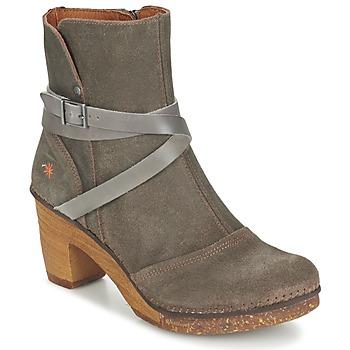 鞋子 女士 短靴 Art AMSTERDAM 灰色