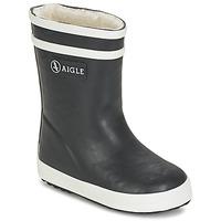 鞋子 儿童 雨靴 Aigle BABY FLAC FUR 海蓝色