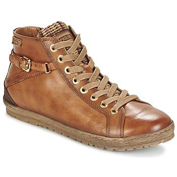 鞋子 女士 高帮鞋 Pikolinos 派高雁 LAGOS 901 棕色