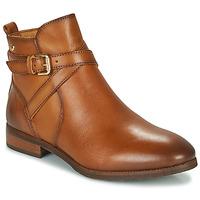 鞋子 女士 短筒靴 Pikolinos 派高雁 ROYAL W4D 棕色