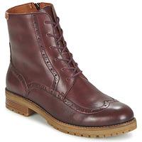 鞋子 女士 短筒靴 Pikolinos 派高雁 SANTANDER W4J 棕色