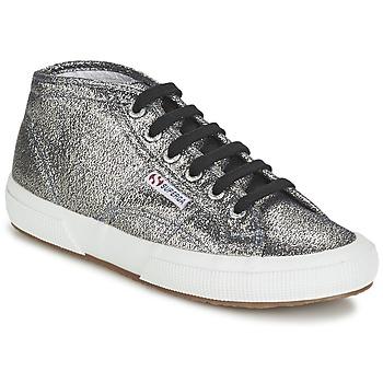 鞋子 女士 高帮鞋 Superga 2754 LAMEW 银灰色