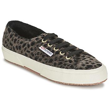鞋子 女士 球鞋基本款 Superga 2750 LEOPARDHORSEW Leopard