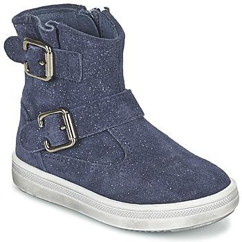 鞋子 女孩 短筒靴 Acebo's MOULLY 蓝色