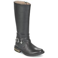 鞋子 女孩 都市靴 Garvalin IRATIA 黑色