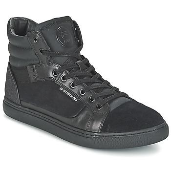鞋子 男士 高帮鞋 G-Star Raw NEW AUGUR 黑色