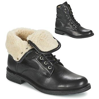 鞋子 女士 短筒靴 Mustang SABORA 黑色