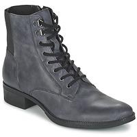 鞋子 女士 短筒靴 Geox 健乐士 MENDI ST B 灰色