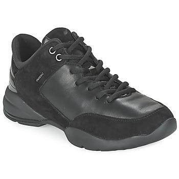 鞋子 女士 球鞋基本款 Geox 健乐士 SFINGE A 黑色