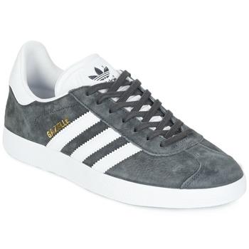 鞋子 球鞋基本款 Adidas Originals 阿迪达斯三叶草 GAZELLE 灰色 / Fonce