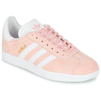 鞋子 女士 球鞋基本款 Adidas Originals 阿迪达斯三叶草 GAZELLE 玫瑰色