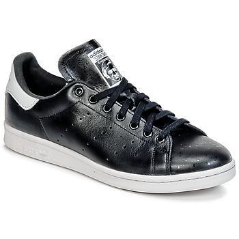 鞋子 球鞋基本款 阿迪达斯三叶草 STAN SMITH 黑色