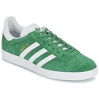 鞋子 球鞋基本款 Adidas Originals 阿迪达斯三叶草 GAZELLE 绿色