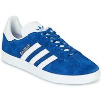 鞋子 球鞋基本款 Adidas Originals 阿迪达斯三叶草 GAZELLE 蓝色