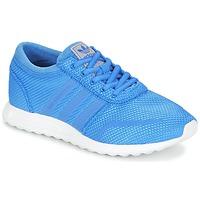 鞋子 男孩 球鞋基本款 阿迪达斯三叶草 LOS ANGELES J 蓝色