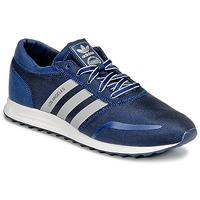 鞋子 男士 球鞋基本款 Adidas Originals 阿迪达斯三叶草 LOS ANGELES 海蓝色