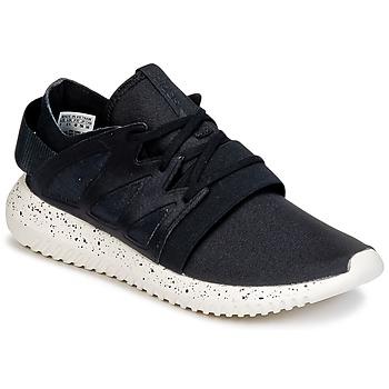 鞋子 女士 球鞋基本款 阿迪达斯三叶草 TUBULAR VIRAL W 黑色