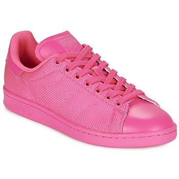 鞋子 女士 球鞋基本款 Adidas Originals 阿迪达斯三叶草 STAN SMITH 玫瑰色