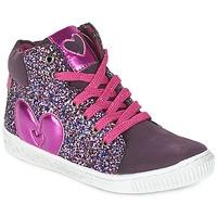 鞋子 女孩 高帮鞋 Agatha Ruiz de la Prada 阿嘉莎·鲁兹·德 BUSOULI 紫罗兰