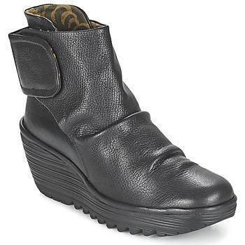 鞋子 女士 短靴 Fly London YEGI 黑色