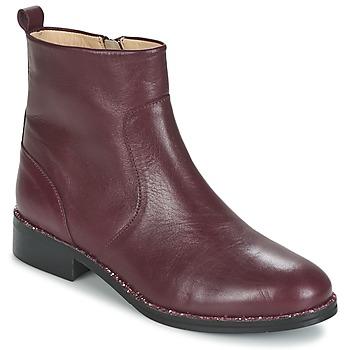 鞋子 女士 短筒靴 Mellow Yellow ARIAGE 波尔多红