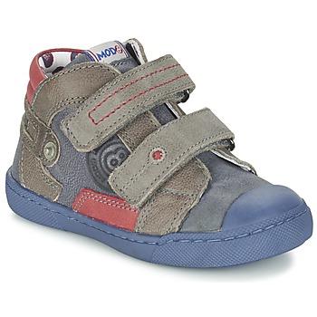 鞋子 男孩 短筒靴 Mod'8 KINZO 海蓝色 / 灰色