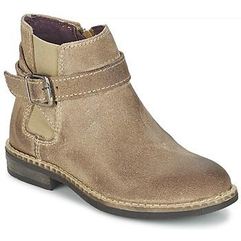 鞋子 女孩 短筒靴 Mod'8 NEL 米色