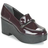 鞋子 女士 皮便鞋 Robert Clergerie XOCOLE 波尔多红