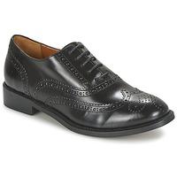 鞋子 女士 系带短筒靴 Heyraud DEHBIA 黑色