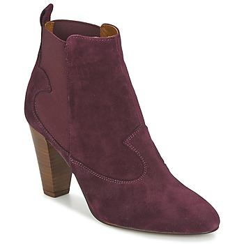 鞋子 女士 短靴 Heyraud DAISY 波尔多红