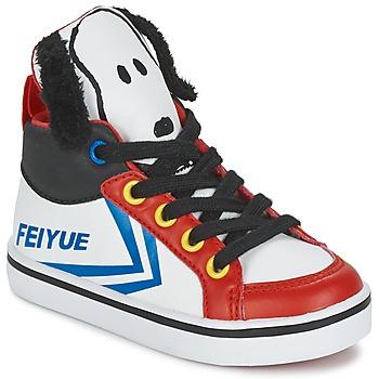 鞋子 儿童 高帮鞋 Feiyue 飞跃 DELTA MID PEANUTS 白色 / 黑色 / 红色