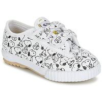 鞋子 儿童 球鞋基本款 Feiyue 飞跃 FE LO SNOOPY EC 白色