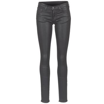 衣服 女士 紧身牛仔裤 Cimarron ROSIE DENM WAX 黑色
