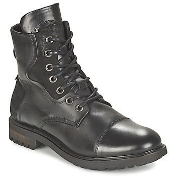鞋子 男士 短筒靴 Bunker RESCUE 黑色
