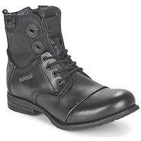 鞋子 女士 短筒靴 Bunker SARA 黑色
