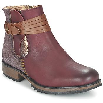 鞋子 女士 短筒靴 Bunker TAYLOR 波爾多紅