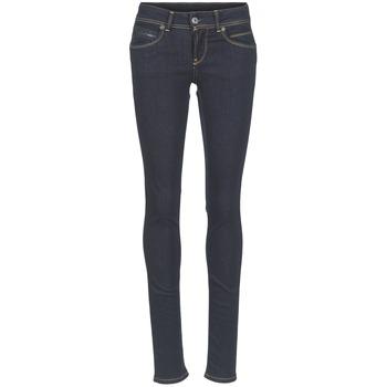 衣服 女士 紧身牛仔裤 Pepe jeans NEW BROOKE M15 / 蓝色 / Brut