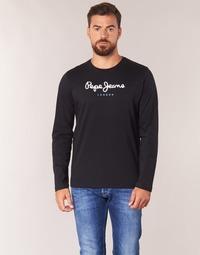 衣服 男士 长袖T恤 Pepe jeans EGGO LONG 黑色