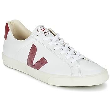 鞋子 球鞋基本款 Veja ESPLAR 白色 / 红色