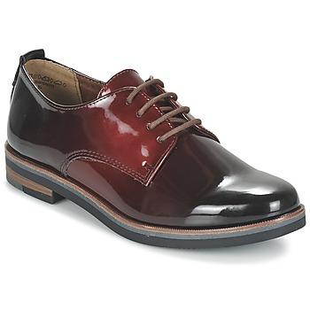 鞋子 女士 德比 Marco Tozzi TREFLO 红色 / Fonce