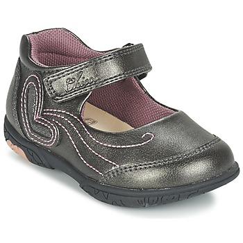 鞋子 女孩 平底鞋 Chicco CINDRA 灰色