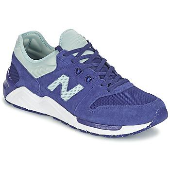 鞋子 男士 球鞋基本款 New Balance新百伦 ML009 蓝色