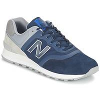 鞋子 球鞋基本款 New Balance新百伦 MTL574 蓝色 / 灰色
