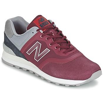 鞋子 球鞋基本款 New Balance新百伦 MTL574 红色 / 灰色