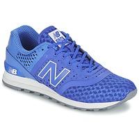 鞋子 男士 球鞋基本款 New Balance新百伦 MTL574 蓝色