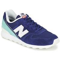 鞋子 女士 球鞋基本款 New Balance新百伦 WR996 海蓝色